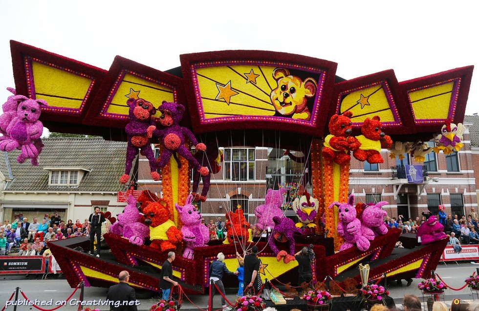 Bloemencorso-2013 в Нидерландах: самый крупный парад цветов в мире_creativing.net